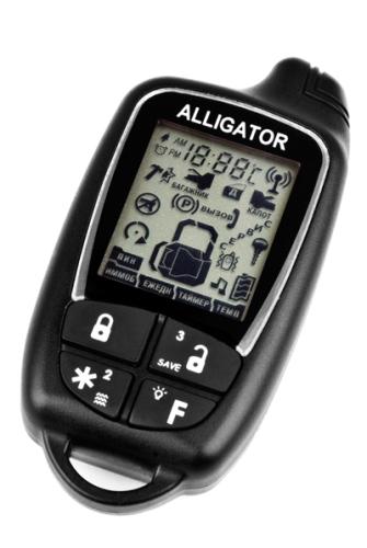 автосигнализация аллигатор тд 320 инструкция