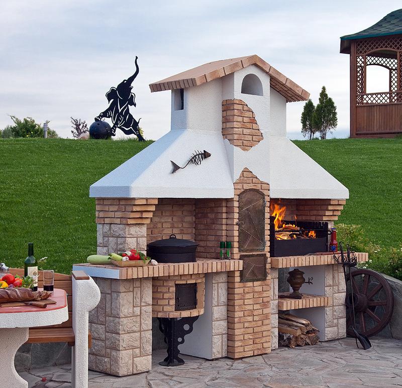 Печь-барбекю на даче купить где купить в казани камины электрические